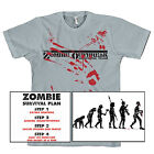Zombie T-Shirts Outbreak Response Team Evolution Survival Plan Walking Undead