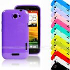 HIGH GLOSS CANDY FINISH SHINY MIRROR EFFECT TPU GEL SILICONE CASE FOR HTC ONE X