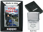 ZIPPO PRINTED ON BOTH SIDES personalised lighter gift on Birthday Christmas 18th
