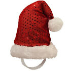 Kyjen Dog LED SANTA HAT Holiday Christmas  Pet Dogs LIGHTS UP!! Xmas S, M or L