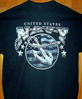 US Navy Black T Shirt Sz Sm - 5XL Kickin Ass Since 1775 Short or Long Sleeve