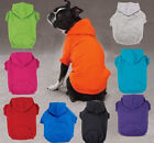 Pet Supplies - Dog Hoodie Basic Sweatshirt Shirt 9 colors Pet Coat Hood Zack & Zoey XS-XXL