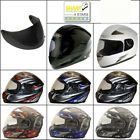 VIPER SKULL/REACTOR/DEMON ROAD LEGAL+Sun Visor Motorbike Motorcycle Helmet
