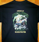 US Army T Shirt Black Sz Sm - 6XL The American Judicial System STRONG
