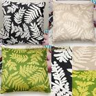 Green Velvet Leaves THROW Pillowcase Slip Pillow Case Cushion Covers HOME DECOR