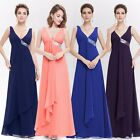 Women's Chiffon Long Bridesmaid Formal Dresses Party Prom Evening Gowns 09981