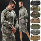 Utility Tactical Waist Pack Pouch Military Camping Hiking Molle Adjustable Bag