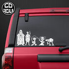 Star Wars Stick Figure Family Vinyl Decal Sticker Car Window Wall Laptop Cartoon $2.49 USD