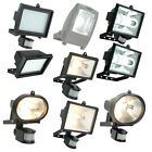 Outdoor Motion Sensor Security Floodlights IP44 LED CFL Halogen Tungsten