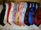 New Boys  Pre Tied Ruched Cravats- Satin or Brocade