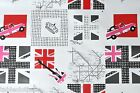 LONDON UNDERGROUND VINYL PVC OILCLOTH WIPE CLEAN TABLECLOTH CO click for sizes