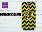Custom Samsung Galaxy note 3 case chevron monogram, available for S3 S4 S5 N2 N3