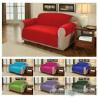 Furniture Protector Quilted Cotton Twill Sofa / Armchair Cover Throw Slipcover