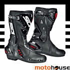 SIDI MENS ST AIR BOOTS SPORT-ON-ROAD RACE STREET MOTORCYCLE BLACK