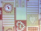XMAS HEARTS REINDEER VINYL PVC OILCLOTH WIPE CLEAN TABLECLOTH CO click for sizes