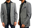 Mens Designer Marc Darcy Casual Regular Fit Suit Coat Blazer Formal Smart 5Style