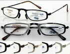 L383 Steel Frame Reading Glasses+50+75+100+125+150+175+200+225+250+300+350+400