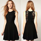 Sexy Womens Clubbing Princess Ladies Slim Fit Cocktail Lace Bodycon Party Dress