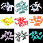 70x Acrylic Artificial Nail Art French False Tips Decoration Manicure UV Gel 01