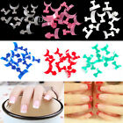 New 70Pcs Color French False Acrylic Nail Art Tips Decoration Manicure UV Gel 02