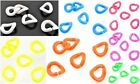 20 x Vibrant Neon Bright Acrylic Chain Link Connector Beads ♥ 18mm ♥ lady-muck1
