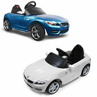 BMW Z4 Licensed Kids Electric Ride on Car Rechargeable With R/C Remote  6V Toy