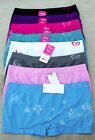 LOT 1 3 or 6 Spring Floral Butterfly Logo SEAMLESS Sports Boyshorts Panty S/M/L