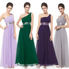 Sequins Empire Waist Ruffles Chiffon Long Formal Party Evening Dress 09770