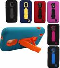For ZTE Solar Z795G Hard Heavy Duty Stand Multi Color Cell Phone Protector