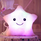 Colorful Led Night Light Lucky star Plush With Music Pillow Valentine's Day Gift