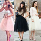 Stylish Sweet Women Girls' Tutu Princess Skirt Petticoat Knee-Length Mini Dress