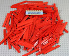 LEGO - 1x8 Tiles Red 4162 Floor Smooth Thin Flat Finishing Plate Bulk Lot