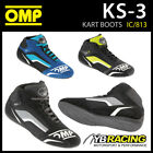NEW! IC/813 OMP KS-3 KS3 KART KARTING BOOTS SUEDE LEATHER in 3 COLOURS