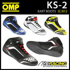 NEW! IC/812 OMP KS-2 KS2 KART KARTING BOOTS MICROFIBRE FABRIC in 4 COLOURS