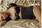 LUXURY FRENCH AUBADE PULP Waspie High Waist SHAPING BRIEF Nude or Black RRP $120