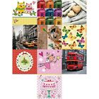 4 Decoupage Paper Napkins - Choice of Shabby Chic 10 Designs & Patterns