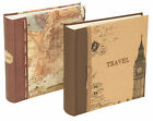 "Kenro World Map & London design Photo Albums hold 200 6x4"" Photos"