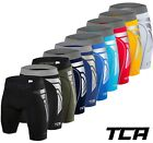TCA Men's Boys' Compression Boxer Shorts Skins CarbonForce Base Layer Pants