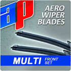 """Aero AP Pair Of Front Exact Wiper Blades Specific Fit Kit Choose Sizes 11""""- 32"""""""