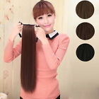 Women Long Big Horsetail Hair Extensions straight Make Up Ponytail Hairpiece