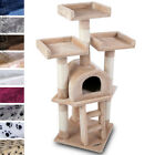 Cat Kitten Scratching Post Tree Sisal Climbing Excercise Activity Centre Toy