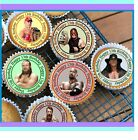 12 OR 24 PRE-CUT STAND UP PRINCESS DESIGN EDIBLE RICE PAPER CUP CAKE TOPPERS