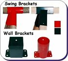 SWING BRACKETS- Square/ Round, Flat /Angled - CLIMBING FRAME HARDWARE*SELECTION