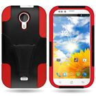 For BLU Studio 5.0 D530 D520 Case Hard Silicone Hybrid Stand Various Covers