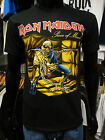 IRON MAIDEN Official Uni-Sex Tee Shirt Various Sizes PIECE OF MIND