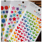 3X Rainbow Sticker Diary Paper Scrapbook Albums Photo Decorative DIY Crafts Trim
