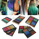 6 12 24 36 48 Colors Non-toxic Temporary Hair Chalk Dye Soft Pastels Salon Kit