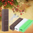 2600mAh External Power Bank Battery Charger+USB Cable For Mobile Phones