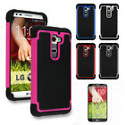 New Hybrid Rugged Impact Heavy Duty Case Cover For LG Optimus G2 D802