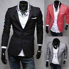 Trendy Fashion Style Mens Jackets Coats Shirts Blazers Skinny Slim Fit Stylish